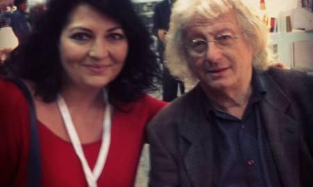 Mautner Zsófia és Esterházy Péter az Isztambuli Könyvvásáron