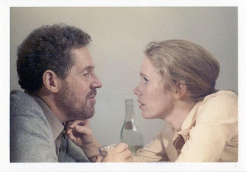Liv Ullmann mint Marianne és Erland Josephson mint Johan, Bergman Jelenetek egy házasságból című filmjében, 1972-ben, Fotó: Prizma