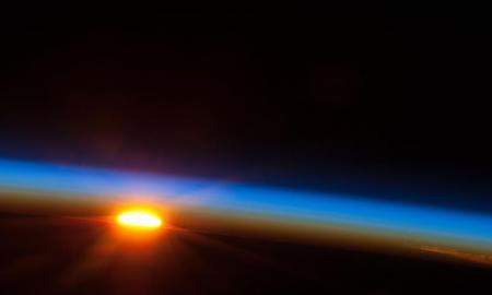 Hat perces videót küldtek az űrből - űrállomás