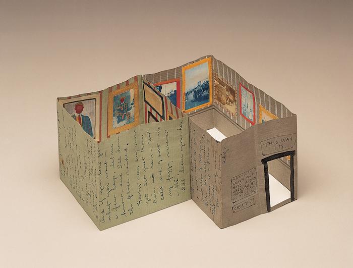 Alfred Joseph Frueh illusztrátor és karikaturista hajtogatott levele