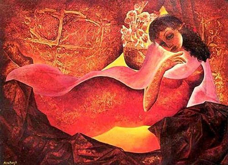 Shringaar című festménye, forrás: www.wikiart.org