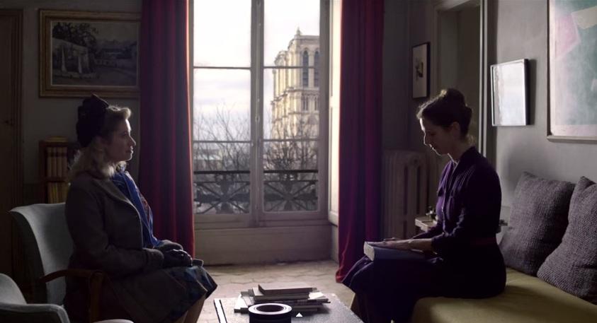 Violette Leduc és Simone de Beauvoir - a kép forrása: youtube