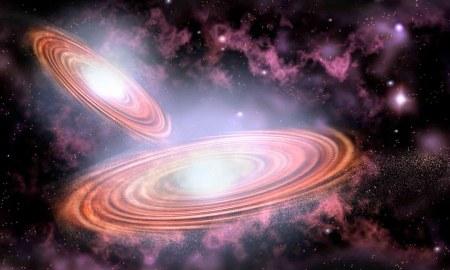 kettős fekete lyuk