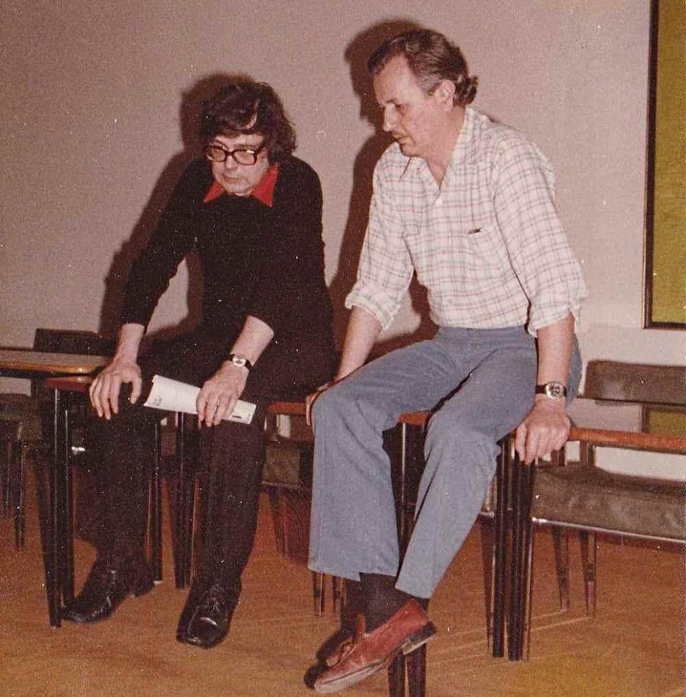 Sipos Gyula és Bakucz József - Marly-le-Roi, 1978