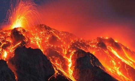 vulkán, láva, stromboli