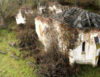 A szentély falait áztató eső mosta elő a szenzációs felfedezést Kiszsolnán