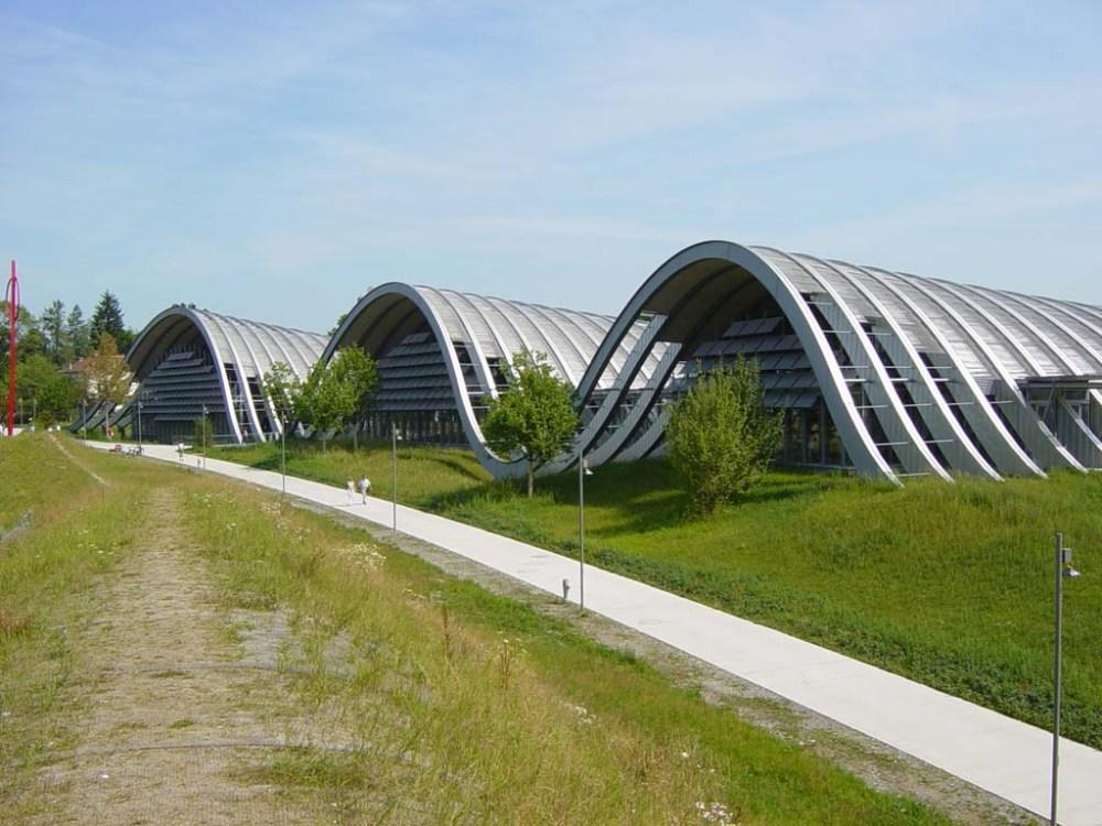 A Paul Klee Centrum Bernben. Fotó: Podmaniczky Szilárd