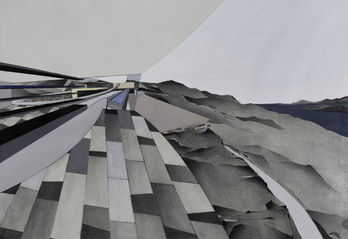Painting – Courtesy of Zaha Hadid Architects.