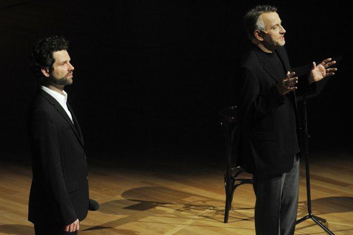 Orgonasztorik, Fassang László és Mácsai Pál