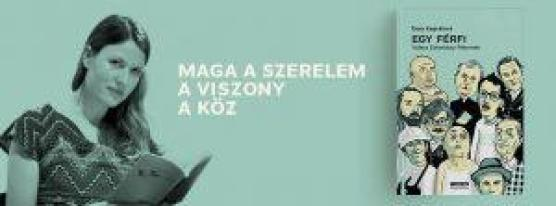 Szombaton, június 11-én, 13.30-tól lesz Egy férfi című könyv bemutatója: Dora Kaprálová cseh írónővel és Deák Renátával, Esterházy Péter szlovák fordítójával beszélget Németh Gábor író a Könyvhét színpadán; ezt követően 14.00 Dora Kaprálová dedikálja Egy férfi című könyvét a Typotex Kiadó standjánál (37-es)
