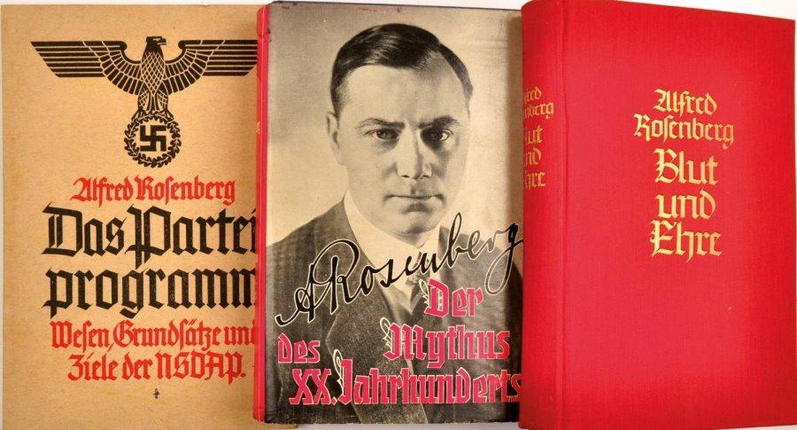 Alfred Rosenber fontosabb művei