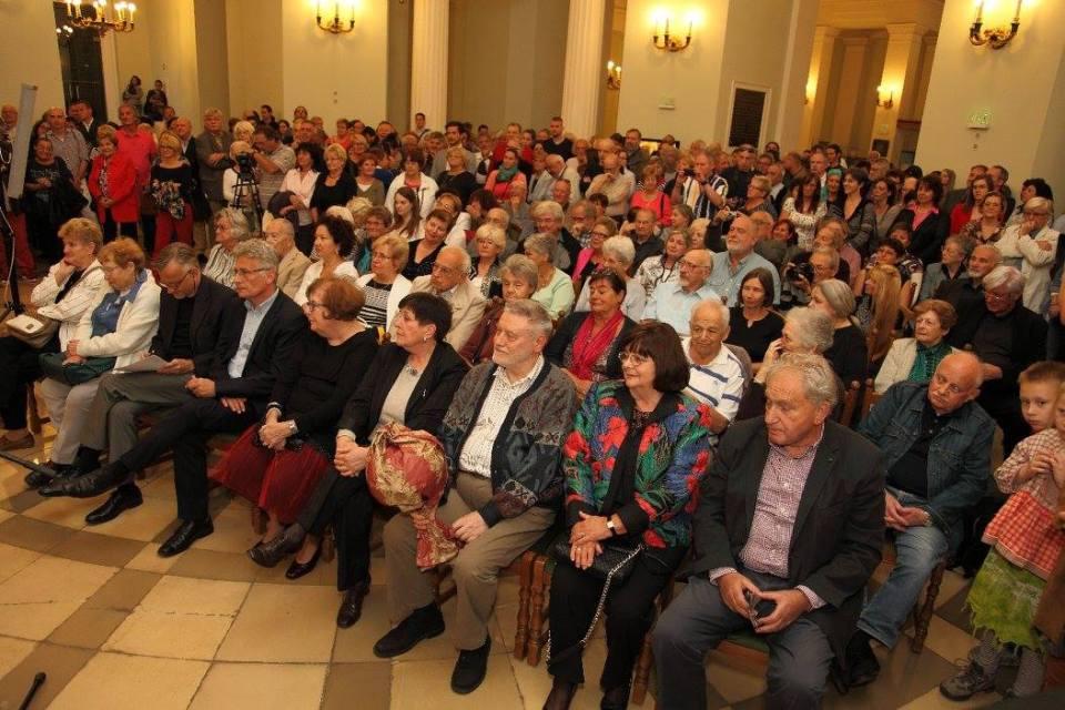 A közönség. Fotó: Magyar Nemzeti Galéria.