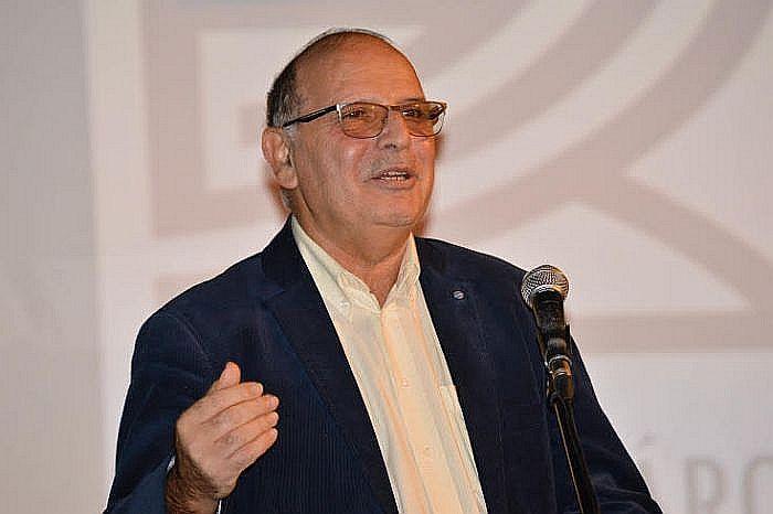 Majtényi László, az EKINT elnöke megnyitja a fesztivált (fotó: Kiss Eszter)