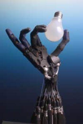 A Shadow Robot Company robotkeze, CC Richard Greenhill és Hugo Elias
