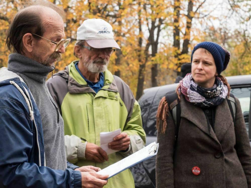 A Város Mindenkié megemlékezése az Új Köztemetőben 2016. november 1-én. Fotó: Vörös Anna