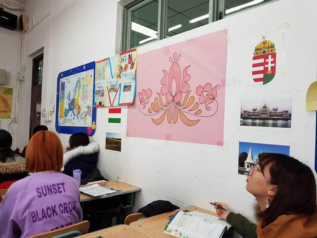 Tanterem a magyar szakon az Idegennyelvi Egyetemen
