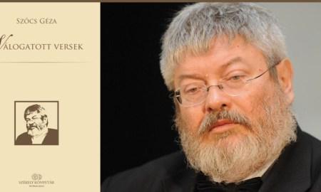 böszörményi zoltán szőcs géza válogatott versek székely könyvtár 2016
