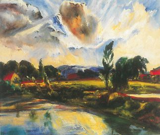 Szentendrei táj, 1927