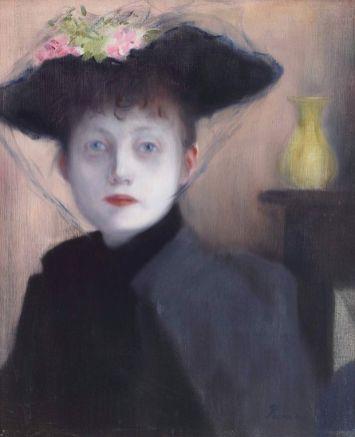 Rippl-Rónai József Párizsi nő, 1891