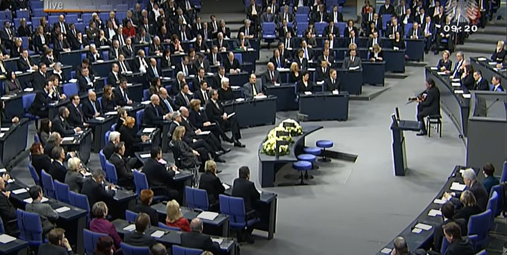 A Bundestagban