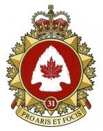 31 Canadian Brigade Group Badge