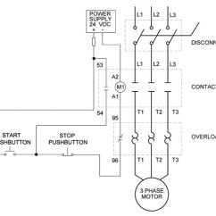 Square D Hand Off Auto Wiring Diagram 1974 Corvette 3 Phase Motor Starter Relay | Get Free Image About