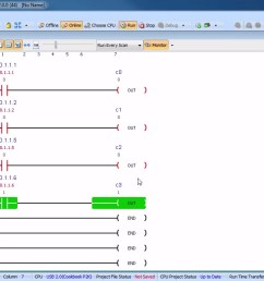 ladder logic in action library automationdirect com four  [ 1267 x 710 Pixel ]