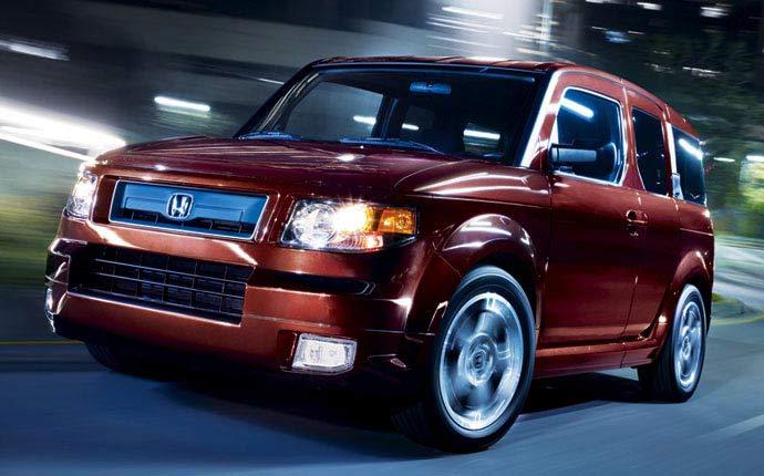 2008 Honda Element Exterior Features