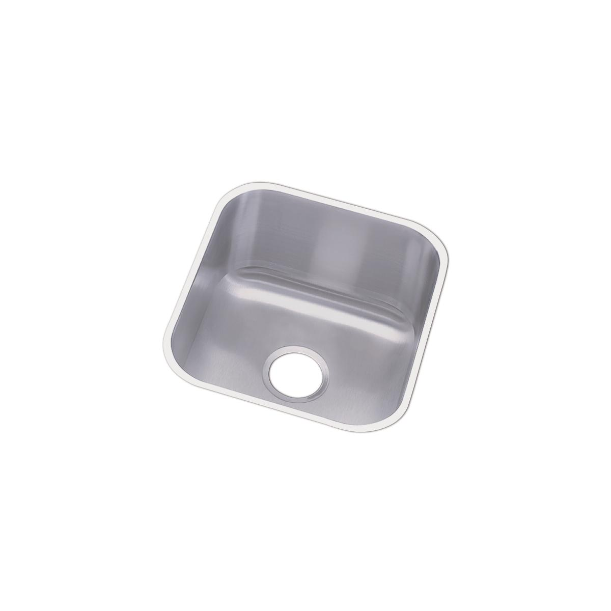 18 gauge stainless steel 16 5 x 18 25 x 8 single bowl undermount bar prep sink