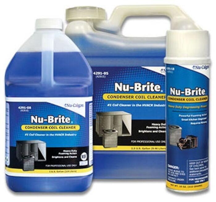 nu brite 2 5 ga bottle coil cleaner