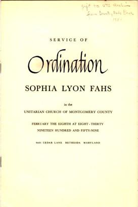 Sophia Lyon Fahs  Columbia University Libraries