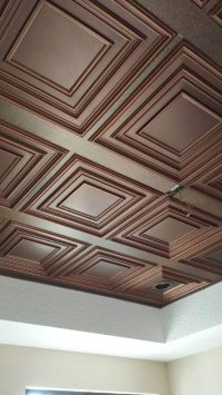 Schoolhouse  Faux Tin Ceiling Tile  #222  DCT Gallery