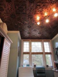 Bollywood  Faux Tin Ceiling Tiles  Glue up  24x24 ...