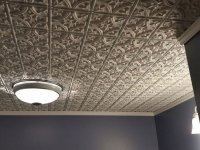 Gothic Reims  Faux Tin Ceiling Tile  Glue up  24x24 ...