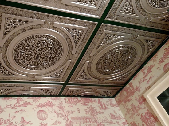 Steampunk  Faux Tin Ceiling Tile  24x24  225  DCT Gallery