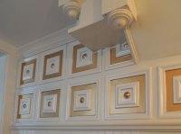 Deco Seashore  Faux Tin Ceiling Tile  Glue up  24x24 ...
