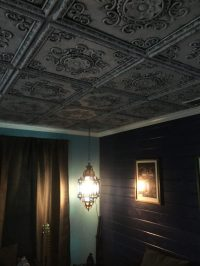 Faux Tin Ceiling Tile  24 x 24  #DCT 08  DCT Gallery