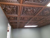 Faux Tin Ceiling Tiles Drop In  Blog Avie