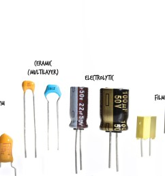 the electrolytic and tantalum capacitors are polarized and must be inserted in the correct direction the film and ceramic capacitors are not  [ 1200 x 800 Pixel ]
