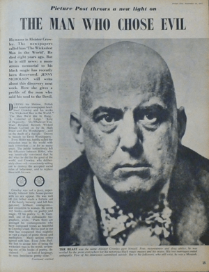 Weiser Antiquarian Book Catalogue #110 Aleister Crowley