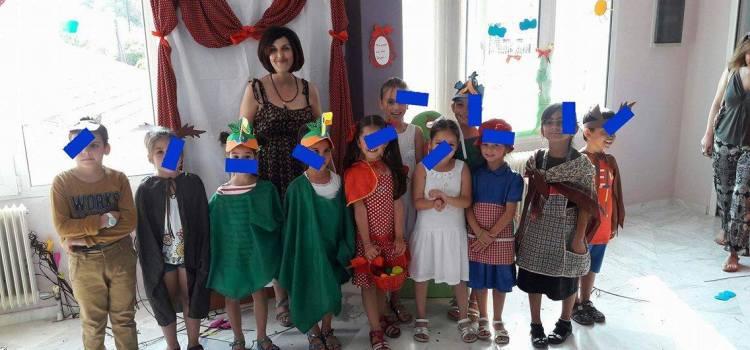 Δημιουργική απασχόληση των παιδιών στην Παιδική Βιβλιοθήκη του Αγίου Λουκά και του Τιμίου Σταυρού με σκοπό την προώθηση της φιλαναγνωσίας