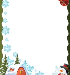 a4 christmas borders clipart paper christmas day clip art [ 900 x 1200 Pixel ]
