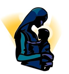 download silhouette of mary and baby jesus clipart christ child madonna clip art child [ 900 x 900 Pixel ]