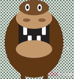 hippo mouth open cartoon clipart hippopotamus clip art [ 900 x 900 Pixel ]
