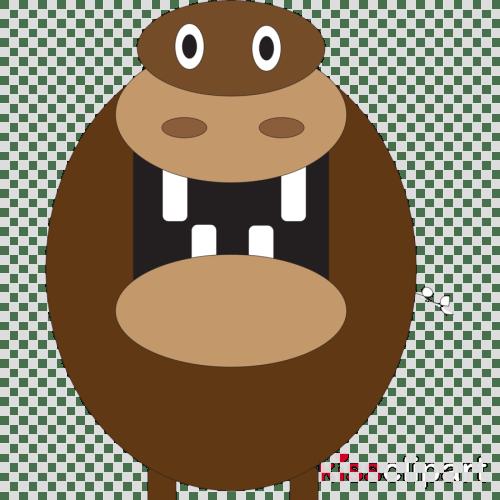 small resolution of hippo mouth open cartoon clipart hippopotamus clip art