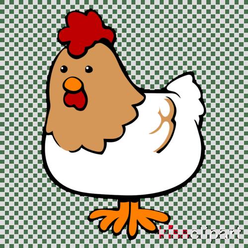 small resolution of chicken cartoon clipart chicken as food clip art