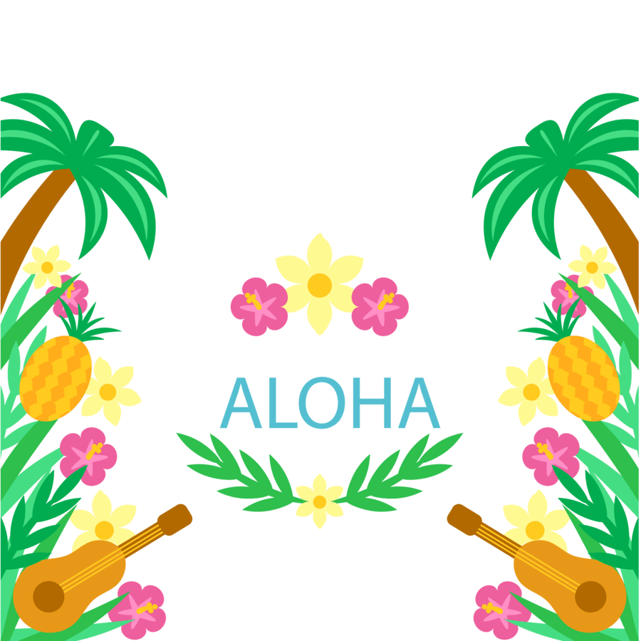 medium resolution of convite para festa tropical clipart cuisine of hawaii clip art