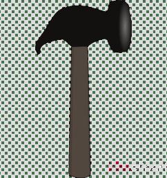 clip art of small hammer clipart hammer clip art [ 900 x 900 Pixel ]