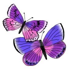 2 purple butterfly clipart monarch butterfly clip art [ 900 x 900 Pixel ]