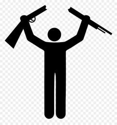 stick figure png with gun clipart stick figure clip art [ 900 x 960 Pixel ]
